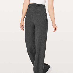 Lululemon Charcoal Grey Take it Easy Pant size 12